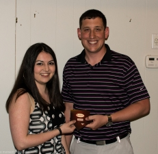 WCC Closing Banquet 2015 Tuesday Night League Mixed Doubles Winner